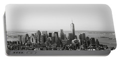 New York City Portable Battery Charger by Linda Woods