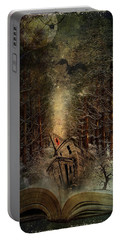 Night Story Portable Battery Charger by Svetlana Sewell