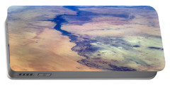 Portable Battery Charger featuring the photograph Nile River From The Iss by Science Source