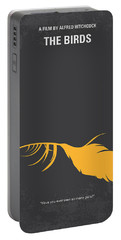 No110 My Birds Movie Poster Portable Battery Charger by Chungkong Art