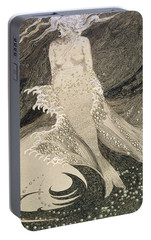 The Mermaid Portable Battery Charger by Sidney Herbert Sime