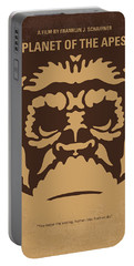 No270 My Planet Of The Apes Minimal Movie Poster Portable Battery Charger by Chungkong Art