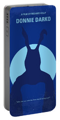 No295 My Donnie Darko Minimal Movie Poster Portable Battery Charger by Chungkong Art
