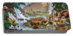 Noahs Ark - The Homecoming Portable Battery Charger by Steve Crisp