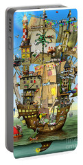 Norah's Ark Portable Battery Charger by Colin Thompson