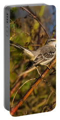 Northern Mockingbird Portable Battery Charger by Chris Flees