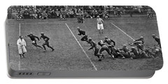 Notre Dame Versus Army Game Portable Battery Charger by Underwood Archives