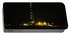 Oil Rig Portable Battery Charger by Jeff Swan