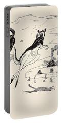 Old Man Kangaroo At Five Portable Battery Charger by Rudyard Kipling