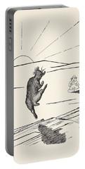 Old Man Kangaroo Portable Battery Charger by Rudyard Kipling