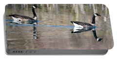 On Golden Pond Portable Battery Charger by Mike Dawson
