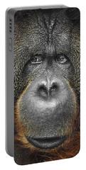 Orangutan Portable Battery Charger by Svetlana Sewell