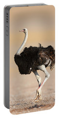 Ostrich Portable Battery Charger by Johan Swanepoel
