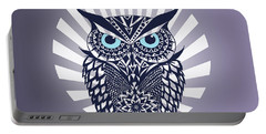 Owl Portable Battery Charger by Mark Ashkenazi