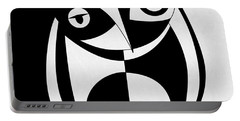 Own Abstract  Portable Battery Charger by Mark Ashkenazi