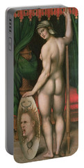 Pallas Athena Portable Battery Charger by Fontainebleau School