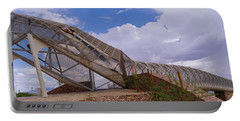 Pedestrian Bridge Over A River, Snake Portable Battery Charger by Panoramic Images