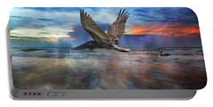Pelican Sunrise Portable Battery Charger by Betsy Knapp