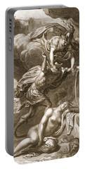 Perseus Cuts Off Medusas Head, 1731 Portable Battery Charger by Bernard Picart