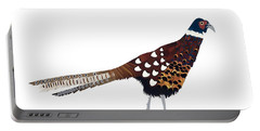 Pheasant Portable Battery Charger by Isobel Barber