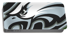 Philadelphia Eagles Football Portable Battery Charger by Tony Rubino