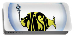 Phish Bowl Portable Battery Charger by Bill Cannon