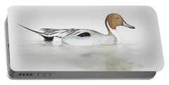 Pintail Duck Portable Battery Charger by Ele Grafton