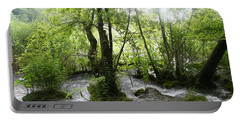 Portable Battery Charger featuring the photograph Plitvice Lakes by Travel Pics