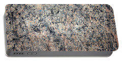 Pollock's Number 1 -- 1950 -- Lavender Mist Portable Battery Charger by Cora Wandel