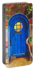 Portable Battery Charger featuring the painting Portal by Rodney Campbell