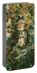 Portrait Of Adele Tapie De Celeyran Portable Battery Charger by Henri de Toulouse-Lautrec