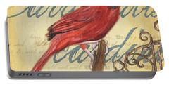 Pretty Bird 1 Portable Battery Charger by Debbie DeWitt