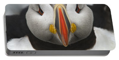 Puffin It Up... Portable Battery Charger by Nina Stavlund