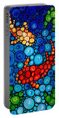 Pure Koi Joi Portable Battery Charger by Sharon Cummings