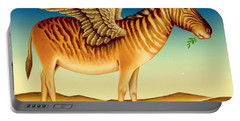 Quagga Portable Battery Charger by Frances Broomfield