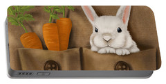 Rabbit Hole Portable Battery Charger by Veronica Minozzi