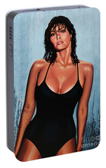 Raquel Welch Portable Battery Charger by Paul Meijering