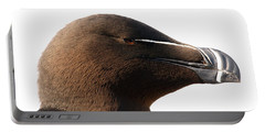 Razorbill Auk Portable Battery Charger by Jeannette Hunt