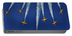 Portable Battery Charger featuring the photograph Republic Of Korea Air Force Black Eagles by Science Source