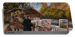 Rive Gouche Portable Battery Charger by Guido Borelli