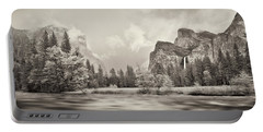 River Flowing Through A Forest, Merced Portable Battery Charger by Panoramic Images