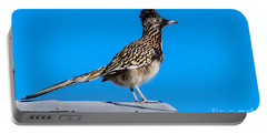 Roadrunner Portable Battery Charger by Robert Bales