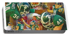 Rose Bowl Collage Portable Battery Charger by John Farr