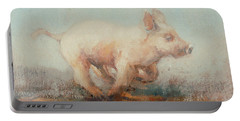 Running Piglet Portable Battery Charger by Ellie O Shea