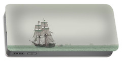 Sail Ship 1 Portable Battery Charger by Lucid Mood