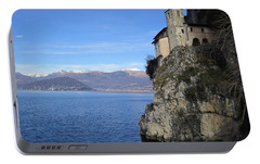 Portable Battery Charger featuring the photograph Santa Caterina - Lago Maggiore by Travel Pics