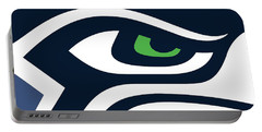 Seattle Seahawks Portable Battery Charger by Tony Rubino