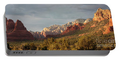 Sedona Sunshine Panorama Portable Battery Charger by Carol Groenen