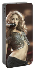 Shakira Portable Battery Charger by Concert Photos