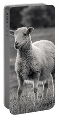 Sheep Art  Portable Battery Charger by Lucid Mood